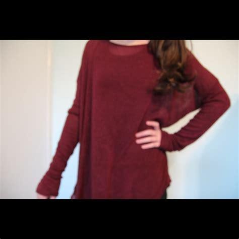 Carlina Blouse melville melville maroon carlina knit top from s closet on poshmark