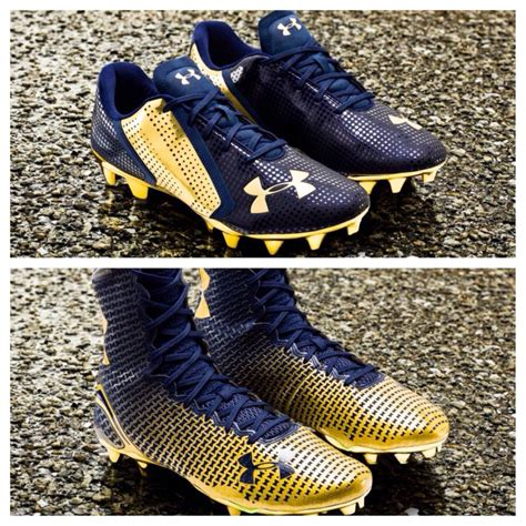 notre dame football shoes notre dame s armour cleats