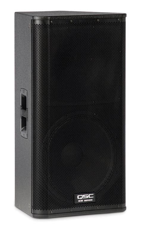Speaker Qsc qsc audio kw152 15 inch two way 1000w active loudspeaker