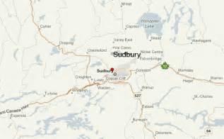 sudbury canada map greater sudbury location guide