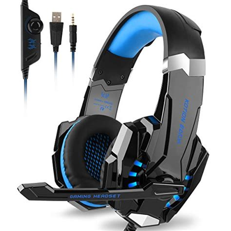 Headset Gaming Kotion Each G9000 3 5mm Single With Led Murah Grosir Ob diza100 kotion each g9000 gaming headset headphone 3 5mm