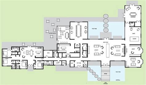 falling water floor plan free home plans fallingwater floor plans