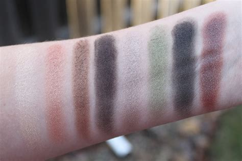 Comfort Zone Swatches by N Coloricon Eyeshadow Palette In Comfort Zone