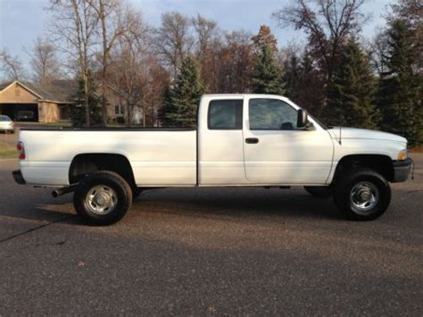 how to fix cars 1996 dodge ram 2500 navigation system purchase used 1996 dodge ram 2500 12v 5 9l cummins diesel 5 speed manual rust free ext cab 4x4
