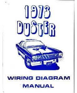 1973 plymouth duster wiring diagrams