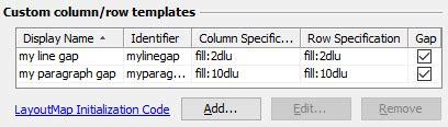 custom layout manager java layout managers features jformdesigner java swing