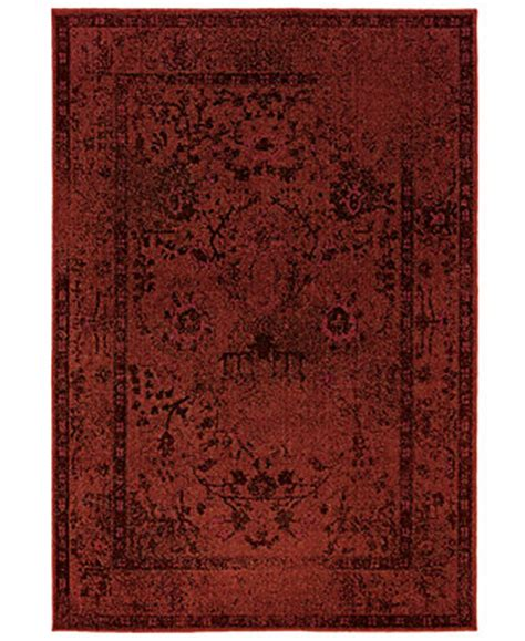Macy Area Rug Weavers Area Rug Rev Rev7550r Ruby 5 3 Quot X 7 6 Quot Rugs Macy S