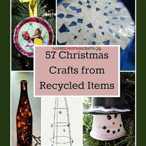 146 best recycled repurposed christmas crafts images on