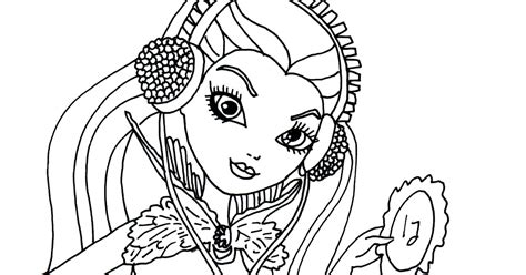coloring pages ever after high raven queen free printable ever after high coloring pages free