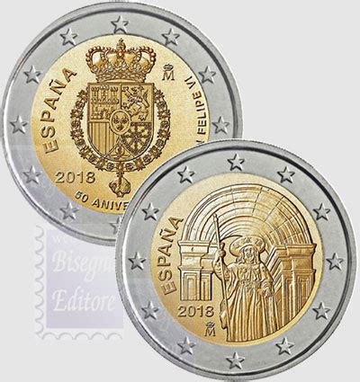 monete fior di conio monete fior di conio unc 2 spagna 2018