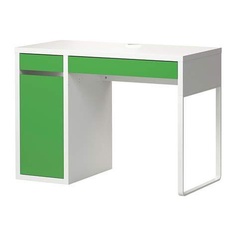 Micke Desk White Green Ikea Micke Desk White