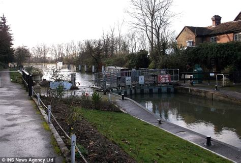 thames locks manned police force re opens search for clues behind unexplained