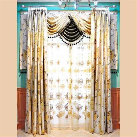 light gold curtains light gold floral jacquard polyester bedroom or living