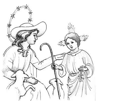 imagenes de virgen la pastora para colorear divina pastora divina pastora dibujos para colorear imagui