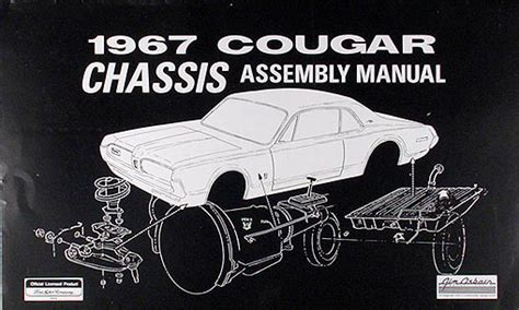 how to download repair manuals 1967 mercury cougar electronic toll collection 1967 mercury cougar chassis assembly manual reprint