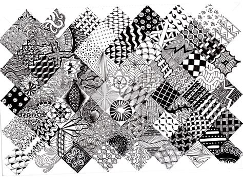 zentangle pattern gallery 9 best images of printable flower patterns zentangle