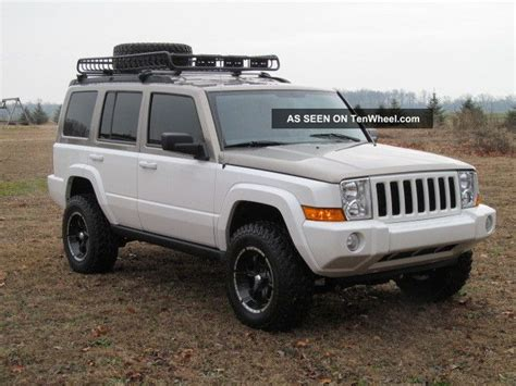 jeep commander lifted 2006 jeep commander custom lifted