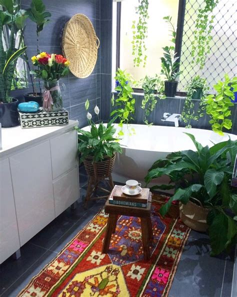 fascinating bohemian bathroom ideas perfect for relaxation