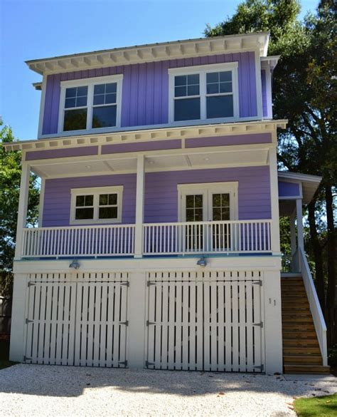 Building A Tiny Purple Beach House On Tybee Tybee Houses