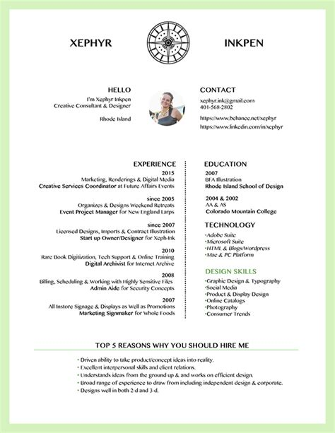 Creative Consultant Sle Resume by Creative Consultant Resume On Risd Portfolios