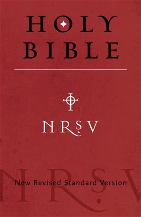 nrs bible nrsv bible
