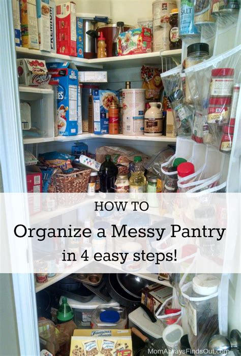 organize your pantry how to organize your pantry in 4 steps