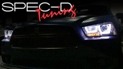 2012 dodge charger headlights specdtuning installation 2011 2014 dodge charger
