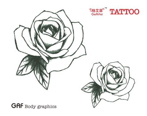 dessin rose tatouage 1463961981278 my cms