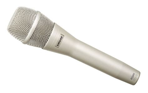 Microphone Shure Ksm 9 Kw shure ksm9 condenser microphone review microphone geeks