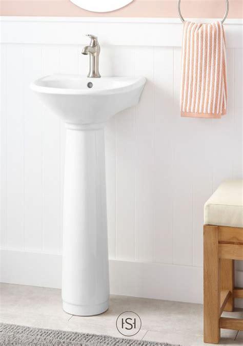 farnham bathroom farnham porcelain mini pedestal sink pedestal half