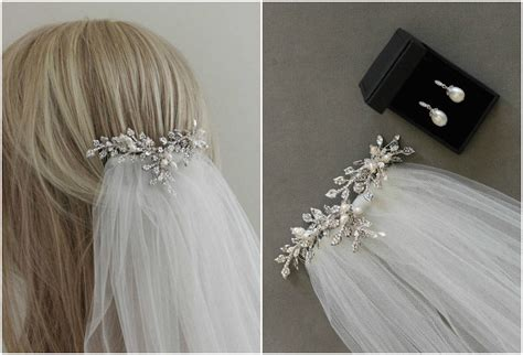 Wedding Hair Combs For Veils by Wedding Veils And Headpieces How To Create The Layered