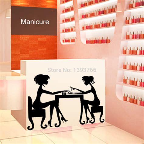 Manicure Di The Nail Shop salon decoration studio design gallery best