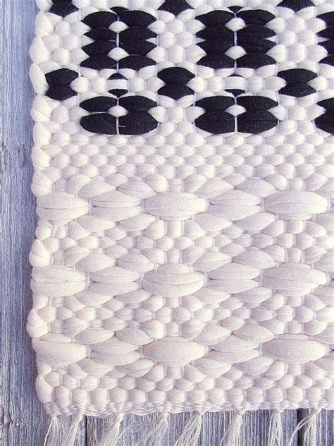white cotton rug black and white cotton rug handmade soft and thick reversible woven on the loom made to