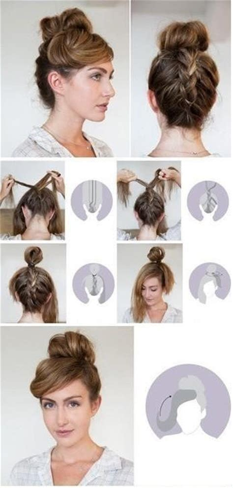 easy haircuts you can do at home creative hairstyles that you can easily do at home 27