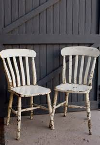 shabby chic kitchen chairs