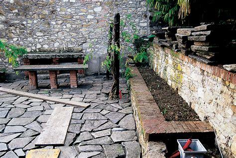 terrazzamento giardino giardini