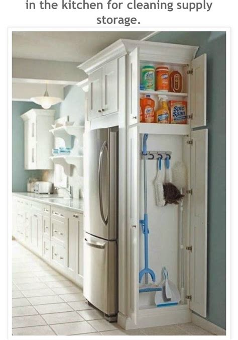 broom closet for inside my pantry kitchen