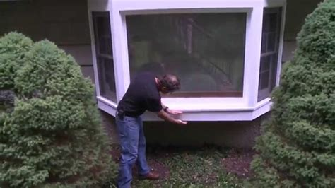 Bow Window Cost insulating a bay window sill youtube