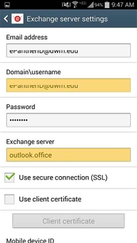 setting up outlook on android how to exchange and set up outlook account on android