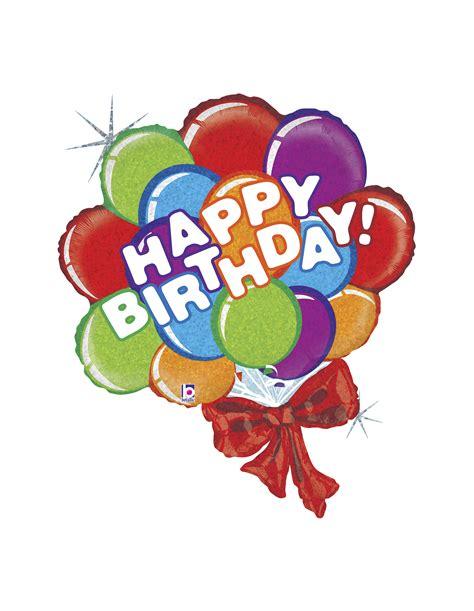 imagenes de globos happy birthday globo mylar forma happy birthday ramo globos holografico