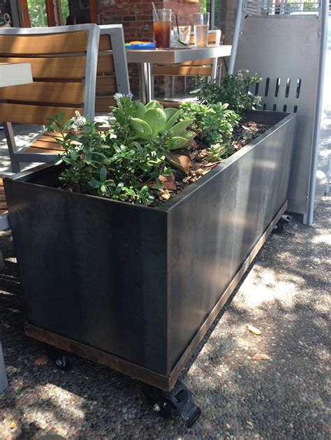 Steel Planters by Corten Steel Planters Images