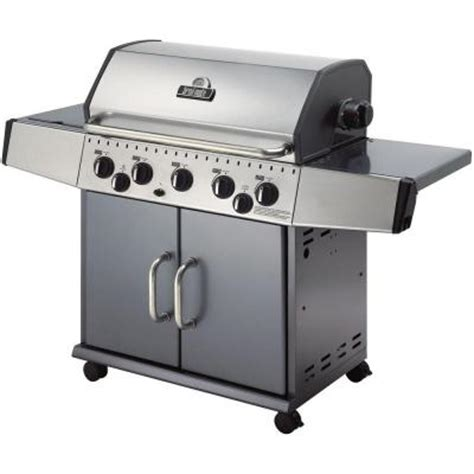broil mate 5 burner stainless steel gas grill