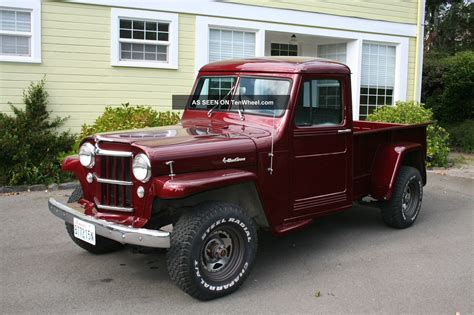 willys jeep pickup jeep willys truck lifted image 130