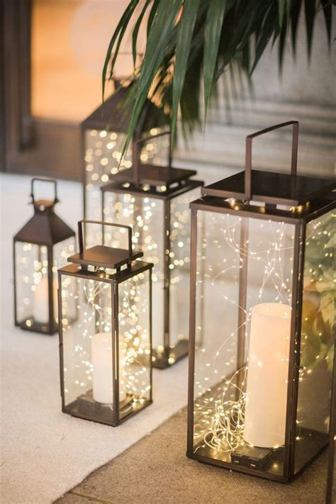metal lantern centerpieces 25 best ideas about lights wedding on light decorations reception