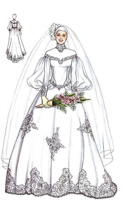 sketch design gaun 105 best images about wedding dress n kebaya on pinterest