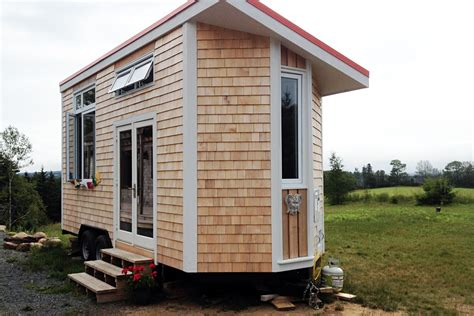 Small Homes Scotia Harmony House A Tiny House On Wheels From Scotia
