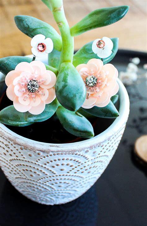 fiori di co primaverili orecchini fiori primaverili rosa perles co