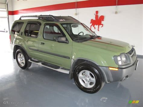 2003 canteen green metallic nissan xterra xe v6 27624969 gtcarlot car color galleries