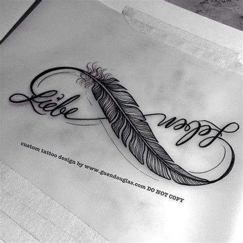 feather tattoo love life die besten 17 ideen zu unendlichkeitssymbol tattoos auf