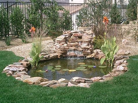 building a small backyard pond koi ponds residential pond construction koi pond builders